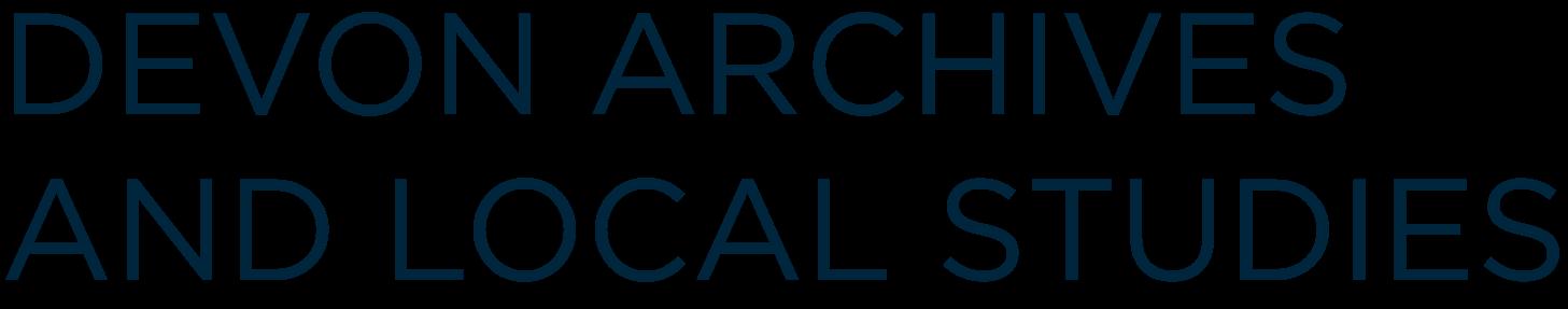 Devon archives and local studies logo