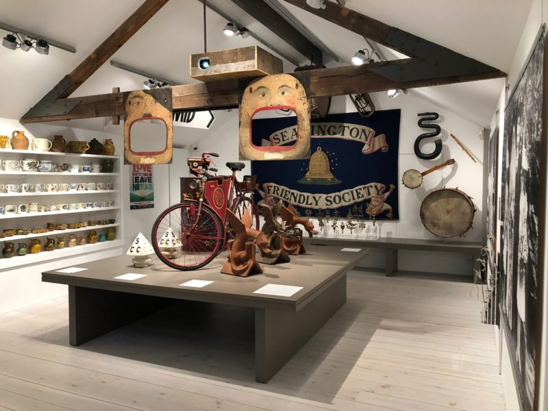 Objects in the gallery