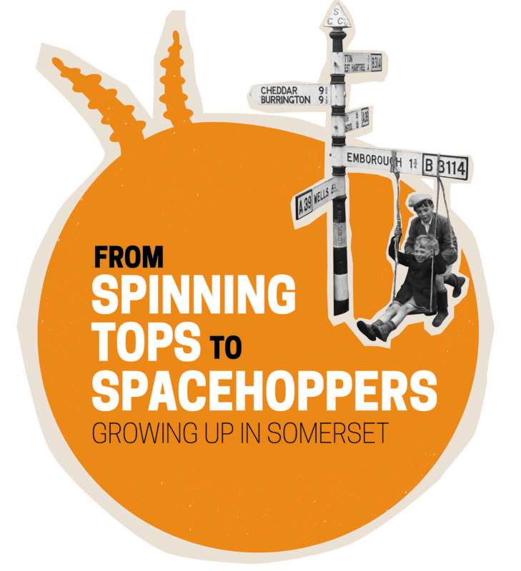 From Spinning Tops To Spacehoppers Exhibition Poster
