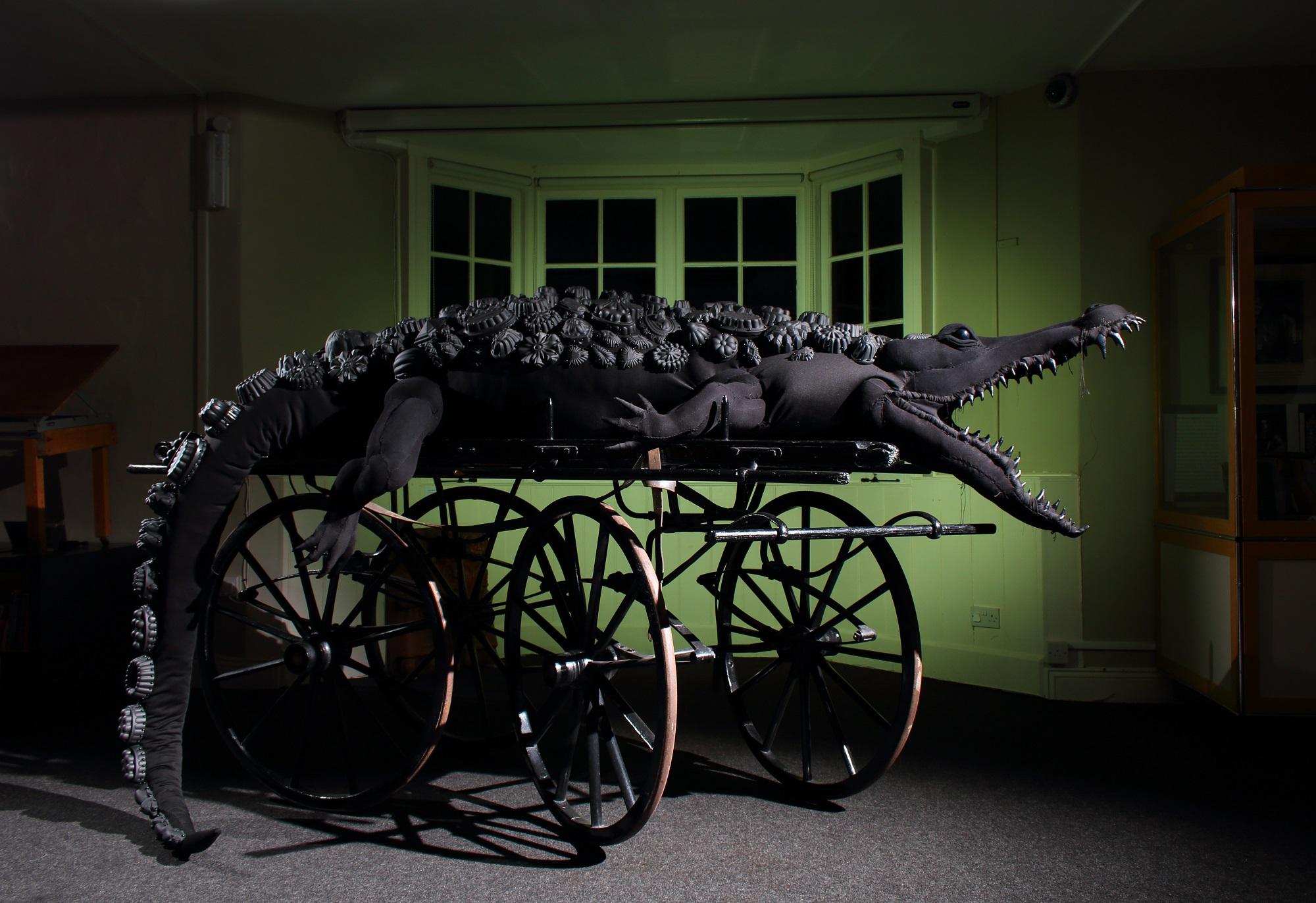 Crocodile artwork