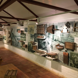 Interior of the Brick and Tile Museum