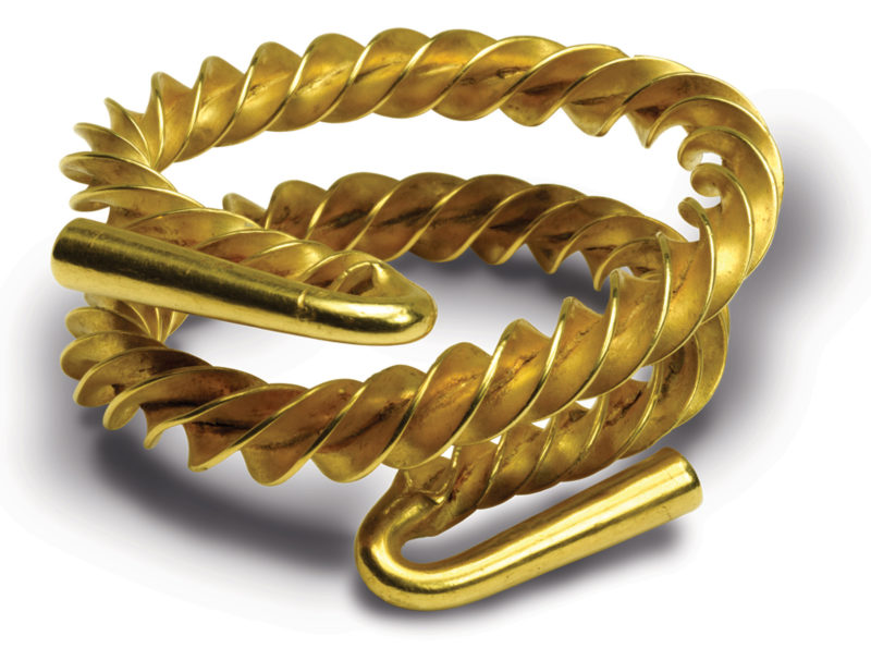 The Yeovil gold Torc