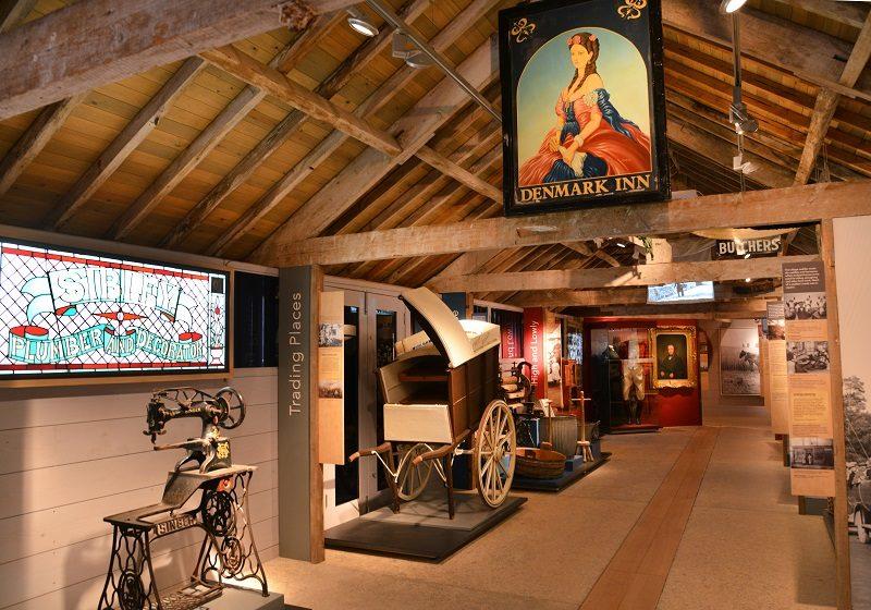 The 'Working Village' gallery