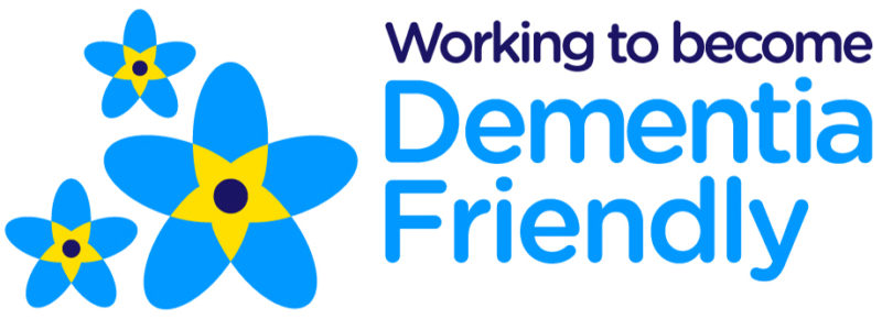 Working to become Dementia Friendly logo