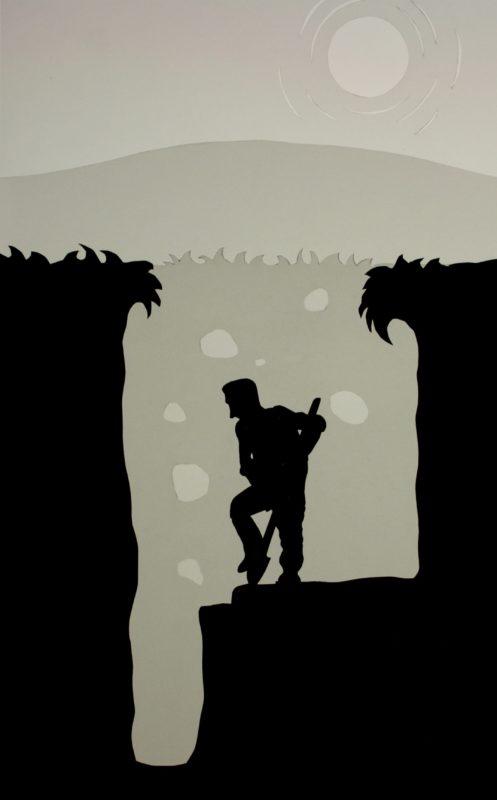 Screen shot of animation