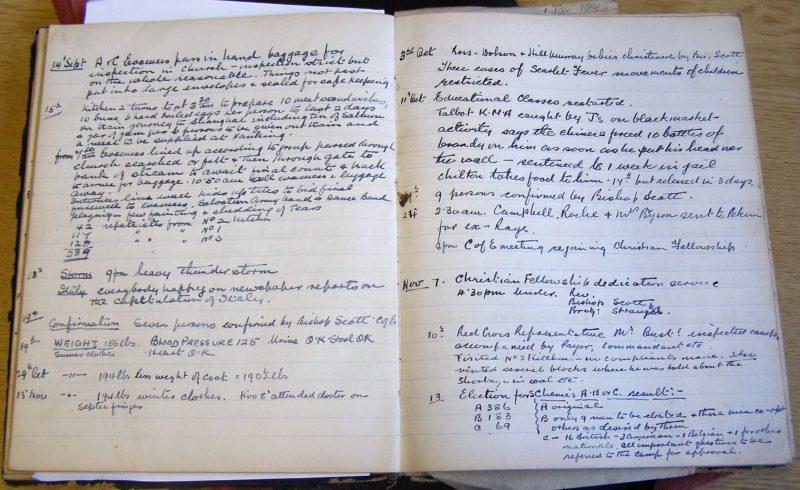 Lewis Burfitt Diary